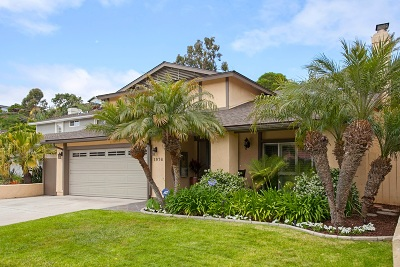 Point Loma Single Family Home For Sale: 1976 Mendocino