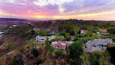 Del Mar Single Family Home For Sale: 4634 Rancho Reposo