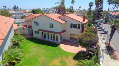 Coronado Single Family Home For Sale: 7 The Inlet