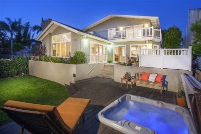Del Mar Single Family Home For Sale: 13744 Boquita Dr