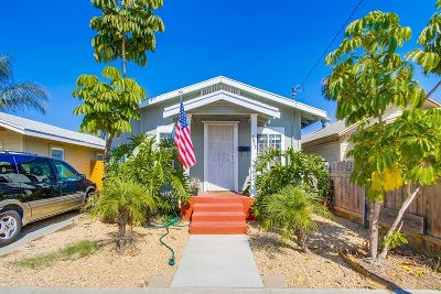 Norma Heights, Normal Heights Single Family Home For Sale: 4517 38th St