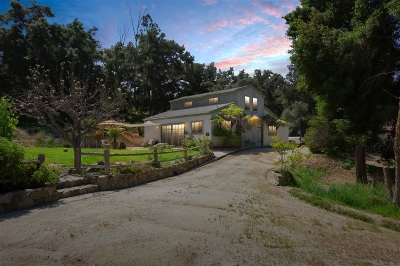 Riverside County Single Family Home For Sale: 47750 Rock Mountain