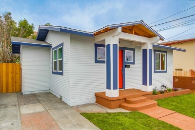 North Park Single Family Home For Sale: 3075 Polk Ave