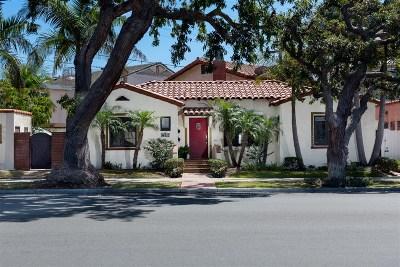Coronado Multi Family 2-4 For Sale: 825-27 Olive