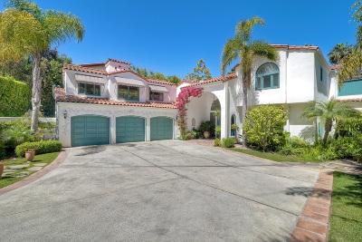 La Jolla Single Family Home For Sale: 1540 Soledad