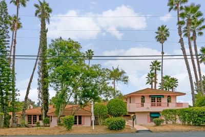 Escondido Single Family Home For Sale: 3132 Purer Road