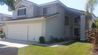 Vista Single Family Home For Sale: 2241 Brookhaven