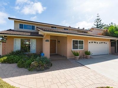 Del Mar Single Family Home For Sale: 13224 Mango Drive