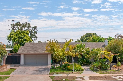 San Diego Single Family Home For Sale: 2755 Soderblom