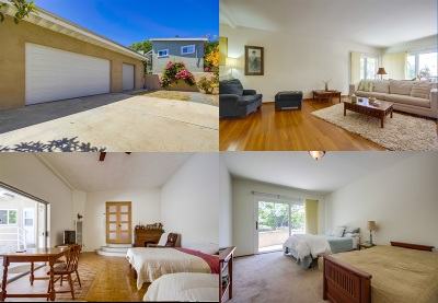 Norma Heights, Normal Heights Single Family Home For Sale: 3814 Merivale Ave
