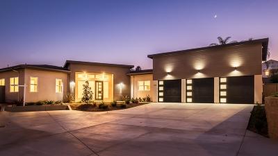 Oceanside Single Family Home For Sale: 1721 Avocado Rd