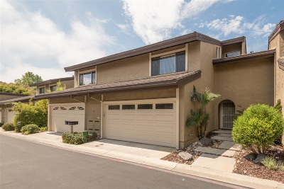 Carlsbad Townhouse For Sale: 4669 Coralwood Circle