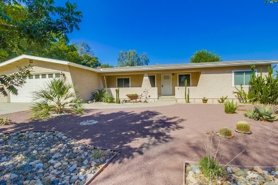 San Diego County Single Family Home For Sale: 2105 Toca