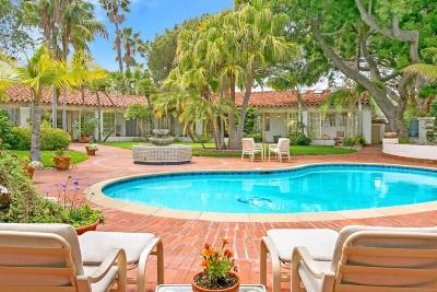 Rancho Santa Fe Single Family Home For Sale: 17410 La Bajada