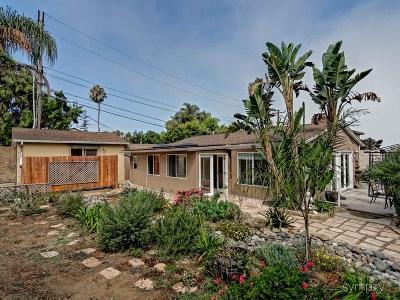 La Jolla Shores Single Family Home For Sale: 7904 Calle De La Plata