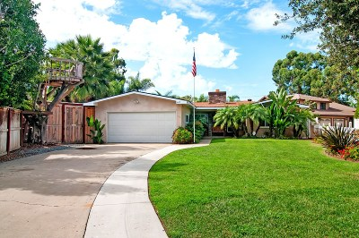 Coronado Single Family Home For Sale: 440 Country Club