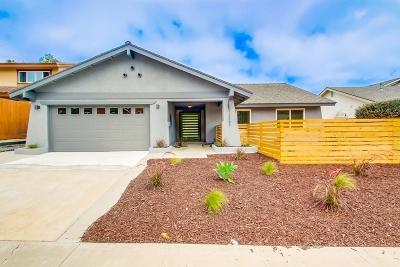 Del Mar Single Family Home For Sale: 13387 Portofino Dr