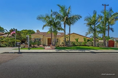 Carlsbad Single Family Home For Sale: 3561 Donna Dr
