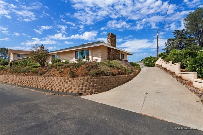 Escondido Single Family Home For Sale: 1523 Robyn Rd
