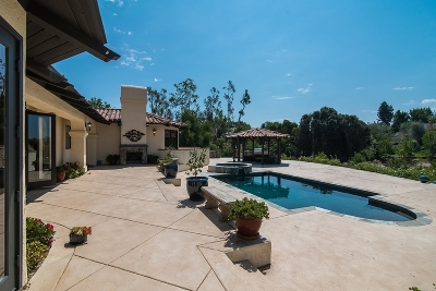 Fairbanks Ranch Single Family Home For Sale: 16655 Via Lago Azul Lot 100