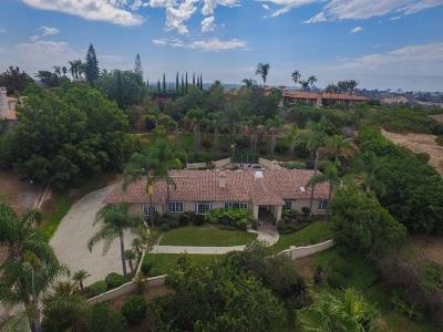 Rancho Santa Fe Single Family Home For Sale: 18150 Via Ascenso