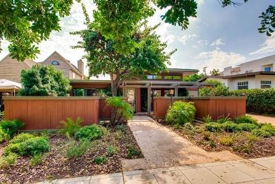 Coronado Single Family Home For Sale: 245 G Ave