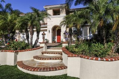 San Marcos Single Family Home For Sale: 789 Via Barquero