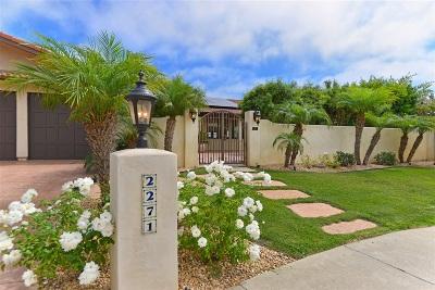 Single Family Home For Sale: 2271 Via Anita