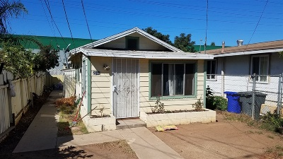 National City Single Family Home For Sale