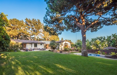 Encinitas Single Family Home For Sale: 262 Via Del Cerrito