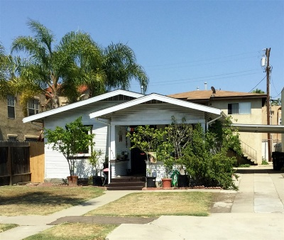 San Diego Multi Family 2-4 For Sale: 4319-4321 Swift Ave
