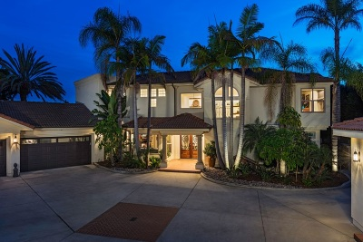 Carlsbad CA Single Family Home For Sale: $2,595,000