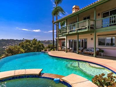 Single Family Home For Sale: 3045 Via Del Cielo