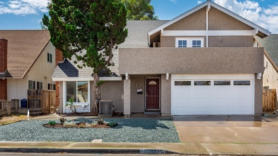 San Diego Single Family Home For Sale: 11065 Delphinus Way