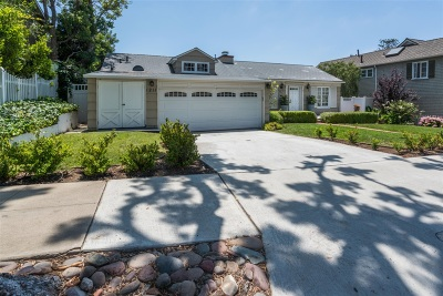 La Jolla Single Family Home For Sale: 1211 Virginia Way
