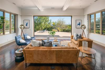 Rancho Santa Fe Single Family Home For Sale: 16354 Via Del Alba