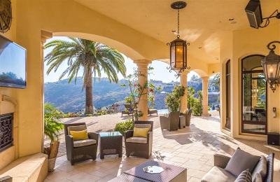 Rancho Santa Fe Single Family Home For Sale: 18233 Via Ambiente