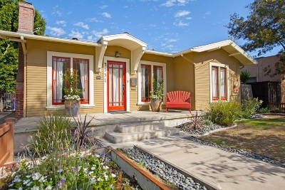 San Diego Single Family Home For Sale: 4931 Vista Place