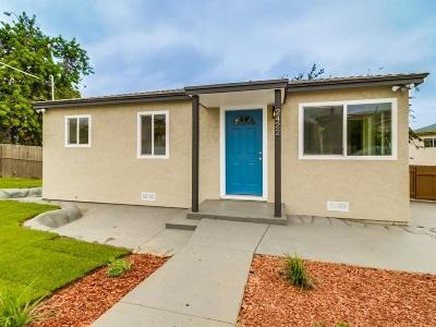 Linda Vista Single Family Home For Sale: 2422 W W Jewett St