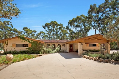 Rancho Santa Fe Single Family Home For Sale: Las Planideras