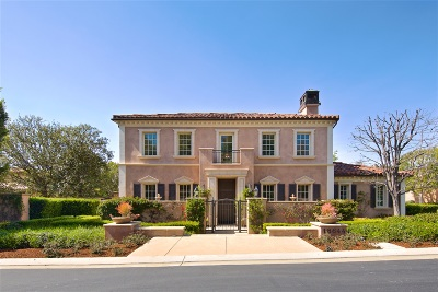 Rancho Santa Fe Single Family Home For Sale: 18644 Via Catania