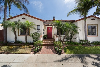 Coronado Single Family Home For Sale: 825-827 Olive Ave