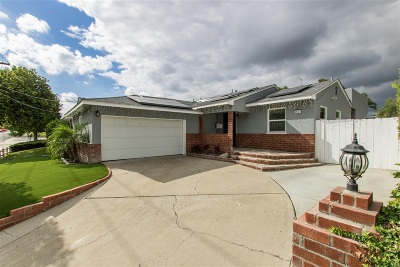 San Diego Single Family Home For Sale: 5567 Barclay Ave