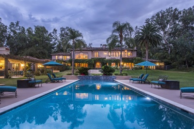 Rancho Santa Fe CA Single Family Home For Sale: $6,995,000