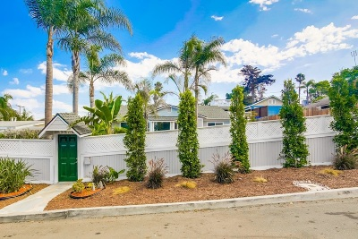 Single Family Home For Sale: 4548 Point Loma Avenue