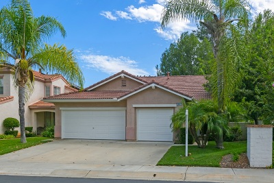 Escondido Single Family Home For Sale: 3047 Sprucewood