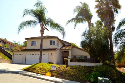 Escondido Single Family Home For Sale: 2039 Caraway St