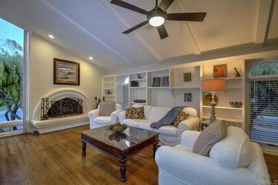 Rancho Santa Fe Rental For Rent: 6177 El Tordo #E