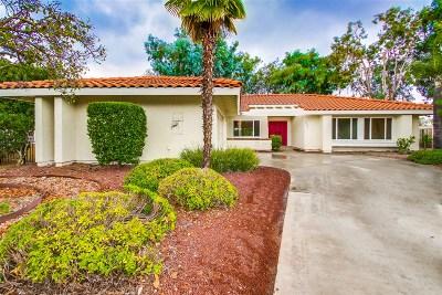 San Diego Single Family Home For Sale: 12541 Camino Vuelo