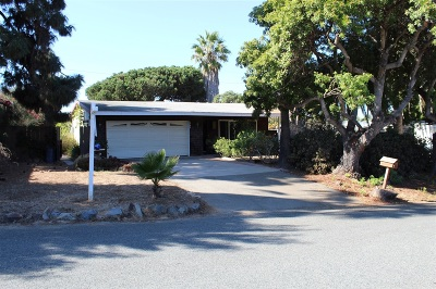 Leucadia Single Family Home For Sale: 942 Ocean View Ave